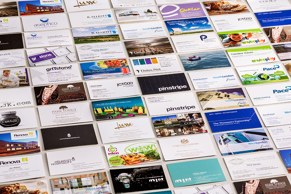 Printing services mint leeds graphic design studio mint leeds business printing cards reheart Images