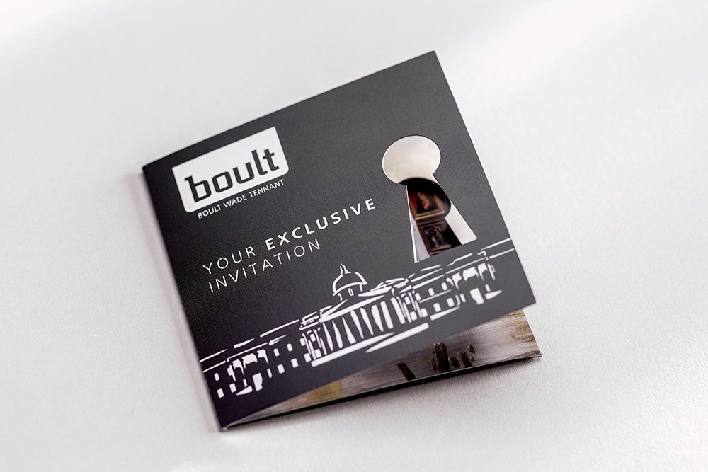 Boult Invitation printing - Mint Leeds