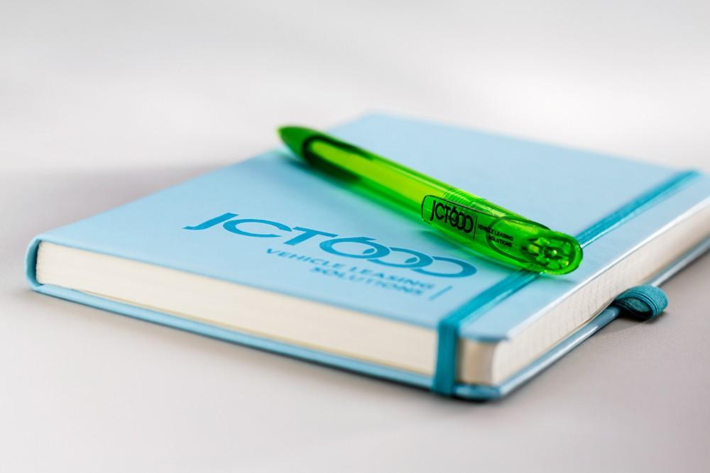 Printing JCT600 Notebook- Mint Leeds