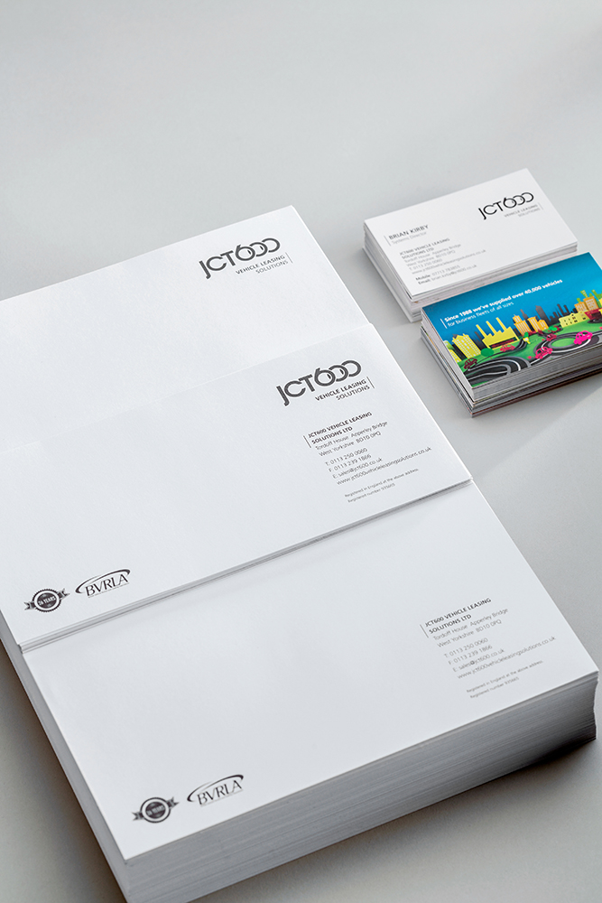 JCT600 Stationary - Mint Leeds design agency in leeds