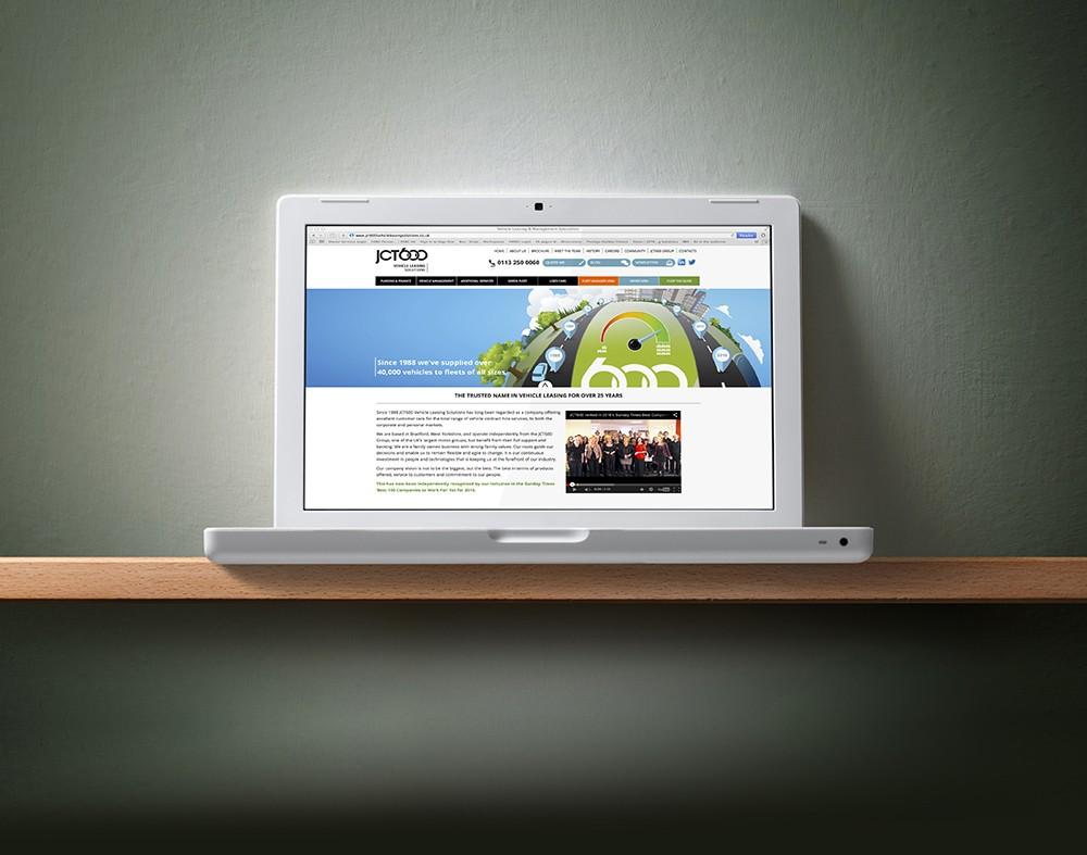 Mint Leeds JCT600 Website, collaborative design agency in leeds
