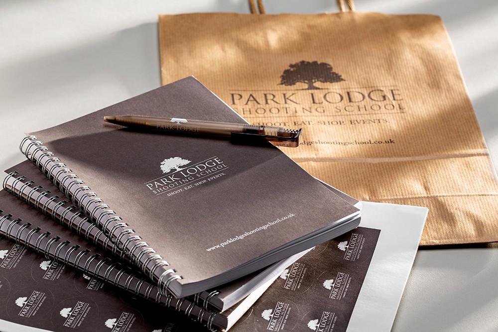 Park Lodge Logo printing - Mint Leeds
