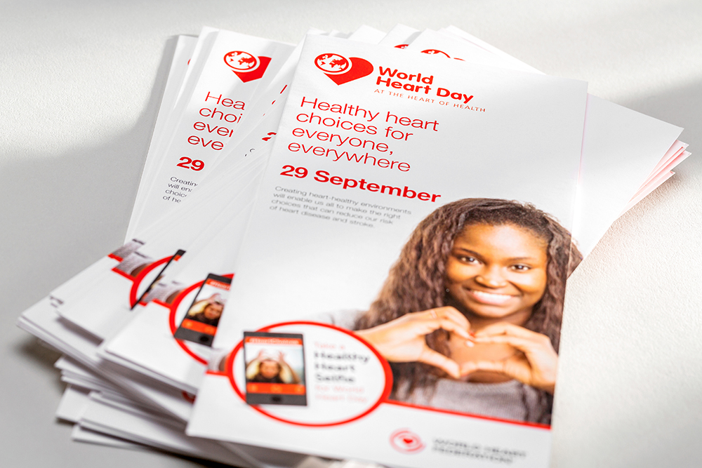 World Heart Day brochures